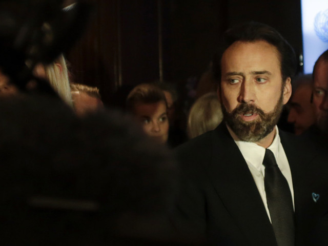 Nicolas Cage Is Pictured In Kazakhstan And The Internet Cannot Cope With His Expression
