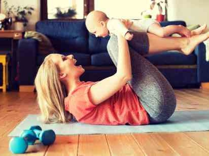6 Weight Loss Tips For New Moms Who Miss Their Pre-Pregnancy Body