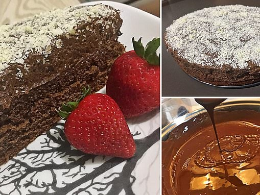 Mum shares decadent chocolate mousse cake recipe using a 75c cake mix from Woolworths