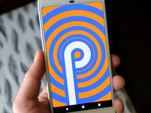 Do Google's new wallpapers include an Android P name hint?