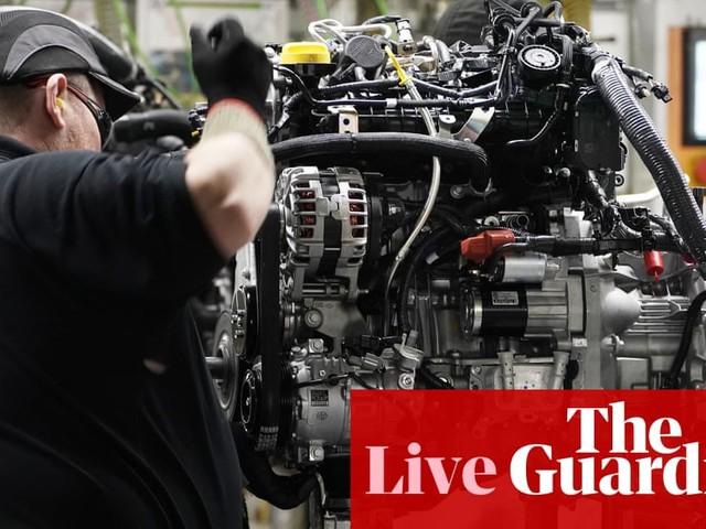 Pound slides as UK economy shrinks in November – as it happened