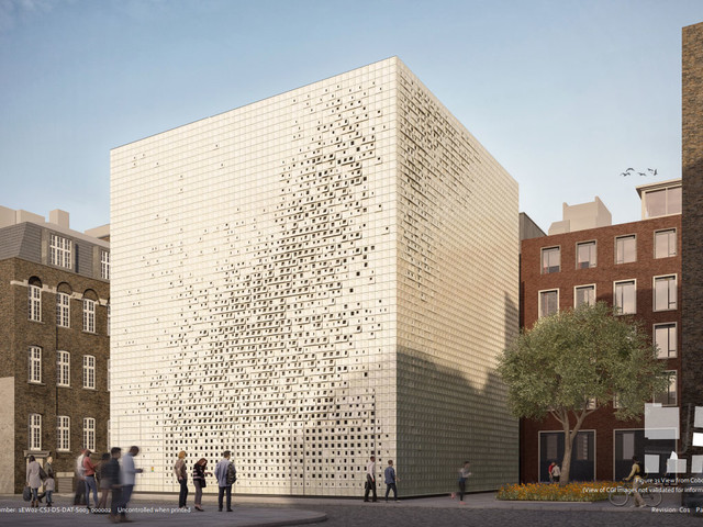 """Giant """"sugar cube"""" to house London Underground ventilation systems"""