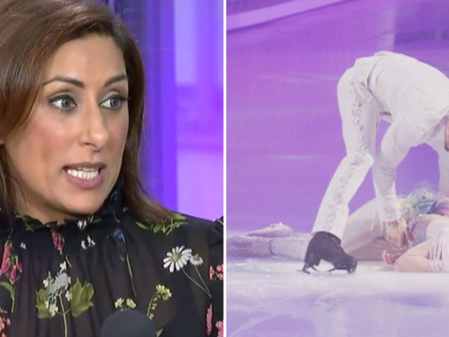 Dancing On Ice's Saira Khan Suggests Jane Danson Got 'Sympathy Votes' After Fainting In Rehearsal