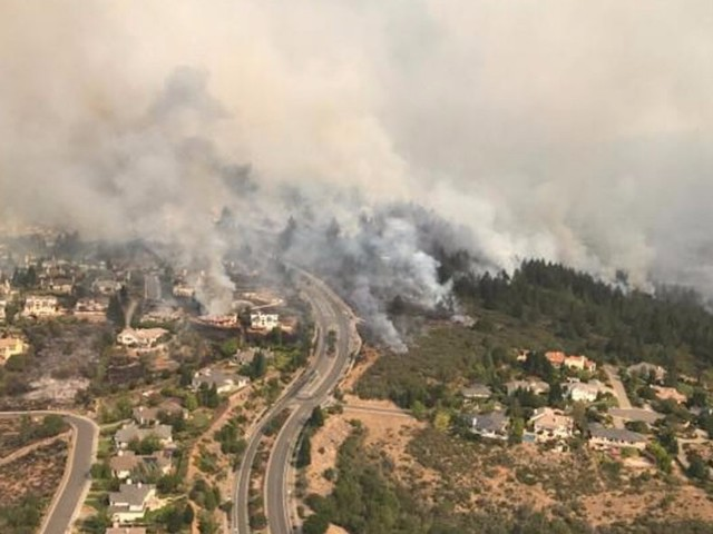 The 'Diablo winds' explain why the fires burning California's wine country became so destructive
