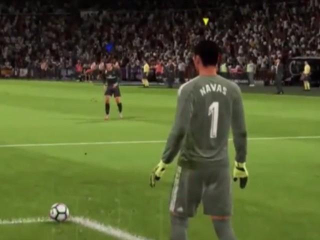 Watch a full 20-minute FIFA 18 match