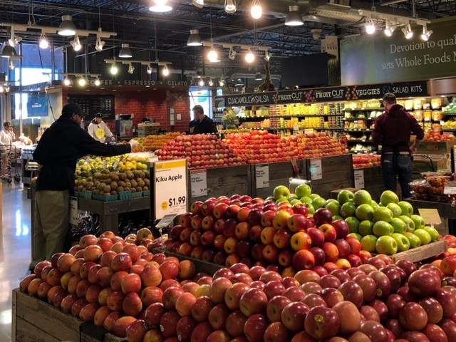 Whole Foods is in a grocery no-man's land (WF, AMZN)