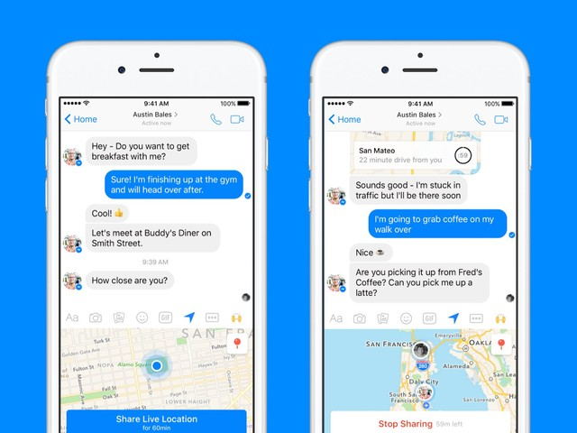 How to Let Your Friends Track Your Location in Facebook Messenger