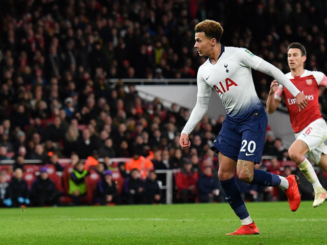 Arsenal 0 Tottenham 2: Dele Alli stars as Spurs book Chelsea semi-final clash