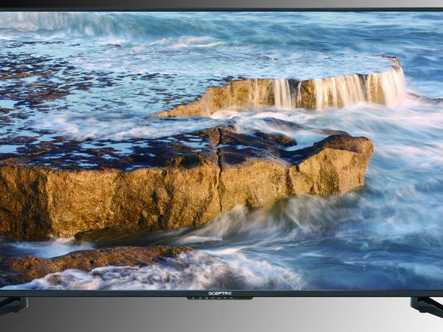 Get this 50-inch Sceptre 4K UHD TV for just $200 - CNET