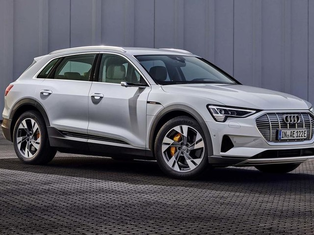 Entry-level Audi e-tron 50 e-SUV revealed
