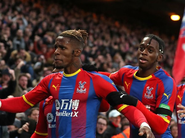 Crystal Palace 'will push for removal of Wilfried Zaha's sell-on clause' in Aaron Wan-Bissaka transfer to Manchester United