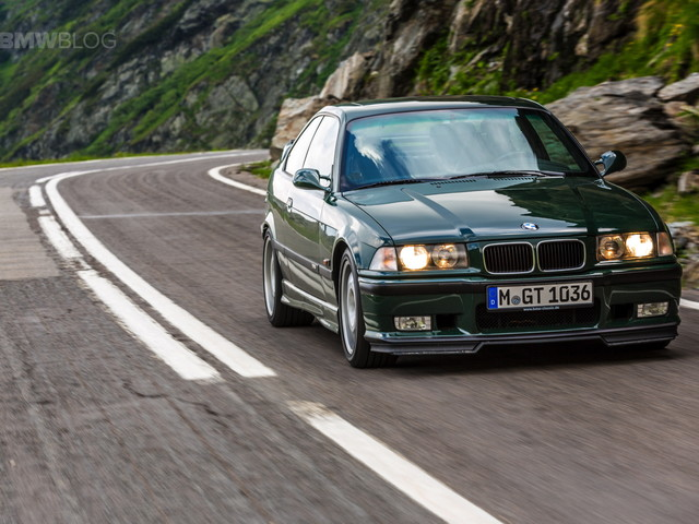 Canada was able to get a few Euro-Spec E36 BMW M3s