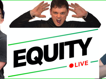 Register to watch a livestream recording of the Equity podcast!
