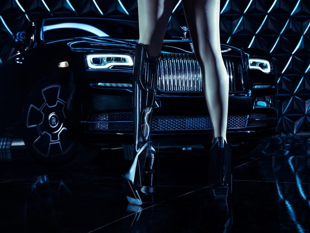 Video: Rolls-Royce and Viktoria Modesta create Black Badge promo