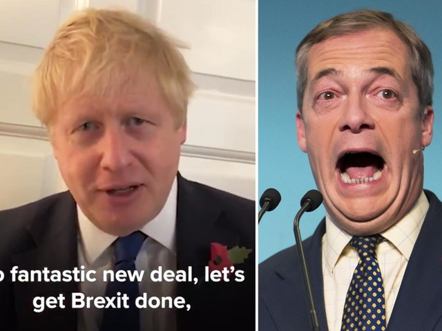 Boris Johnson offers Brexit olive branch to Nigel Farage as PM rules out extending transition period beyond 2020