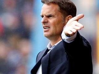 Crystal Palace fires De Boer after 4 Premier League games