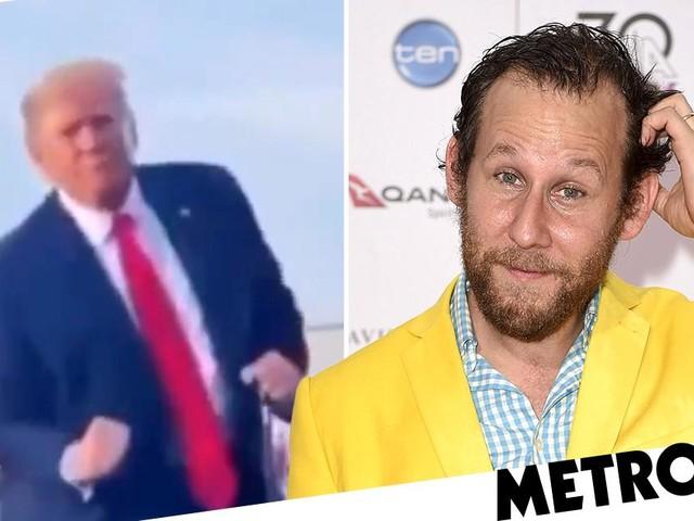 Australian singer Ben Lee brilliantly mocks Donald Trump's awkward dancing with hilarious mash up