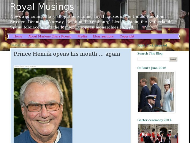 Prince Henrik opens his mouth ... again