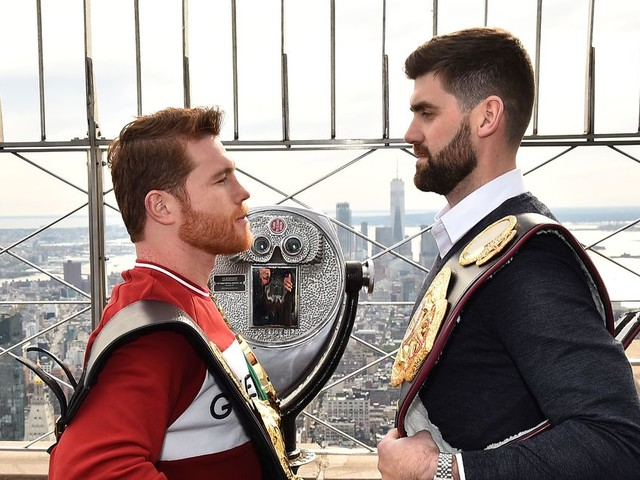 Canelo Alvarez signs staggering $365m deal with DAZN as Mexican prepares to take on Rocky Fielding