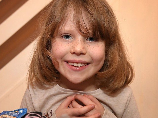 Lucy was only four when her dad died. She's carrying on his brilliant Christmas tradition