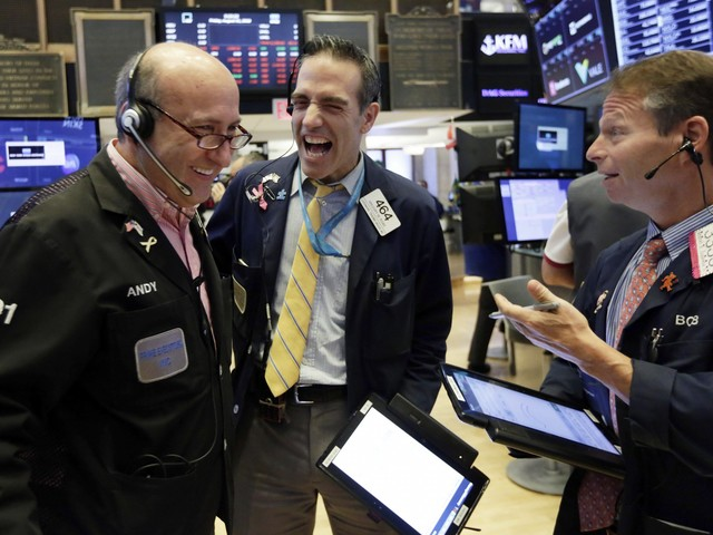 The Dow rallies nearly 400 points amid optimism surrounding US-China trade talks