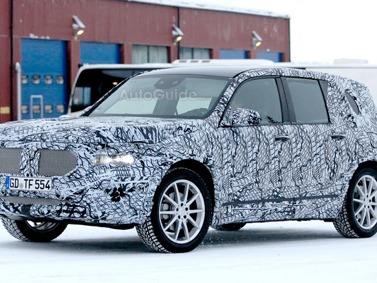 Here's Our Best Look Yet at the New Mercedes GLB Crossover