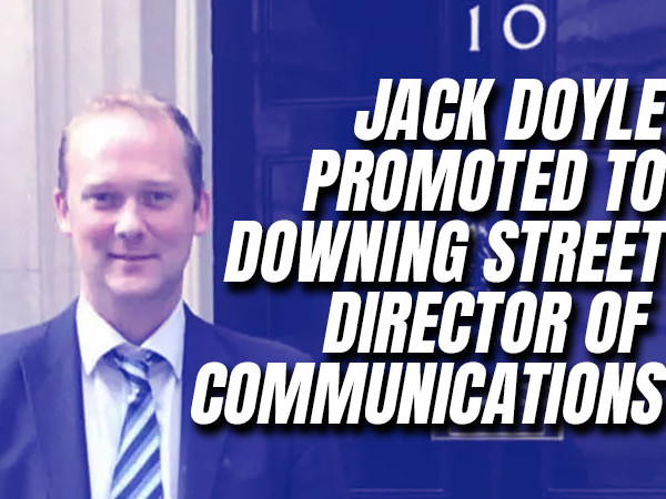 Jack Doyle is Downing Street's New Head of Spin