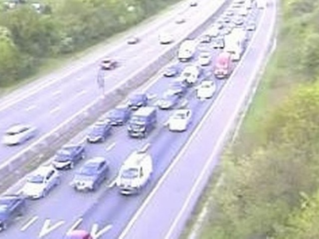 Updates: Heavy traffic on M4 after crash between J19 for M32 and J18 for Bath