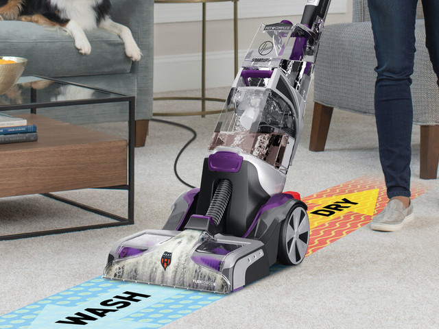 Upright Carpet Cleaners - The Hoover SmartWash PET Tackles Dirt, Stains & More (TrendHunter.com)