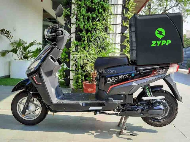 Hero Electric Nyx-HX Scooters For Zypp Electric's Last Mile Delivery