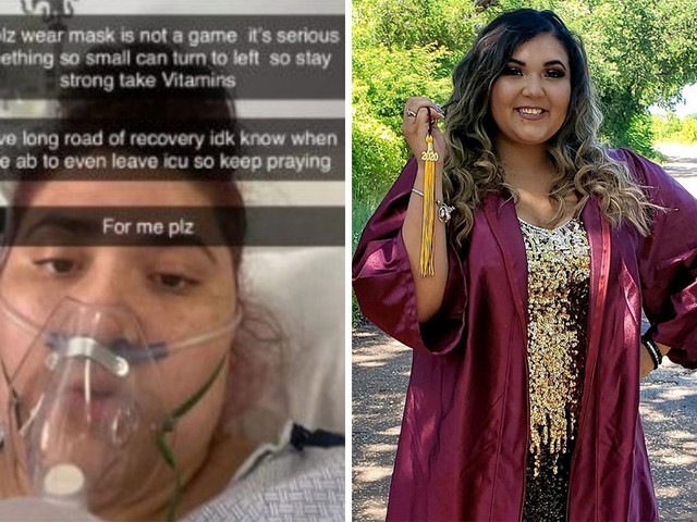 Unvaccinated healthy Texas student, 19, dies of Covid and her mom tells of regret that she didn't make her get the shot