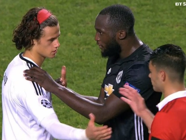 Benfica goalkeeper Mile Svilar reveals what Romelu Lukaku said to him after his Champions League howler