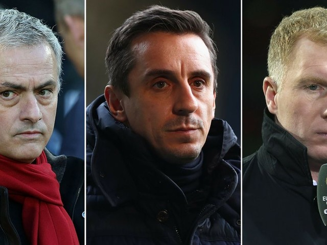 Manchester United great Gary Neville steps into Jose Mourinho and Paul Scholes row