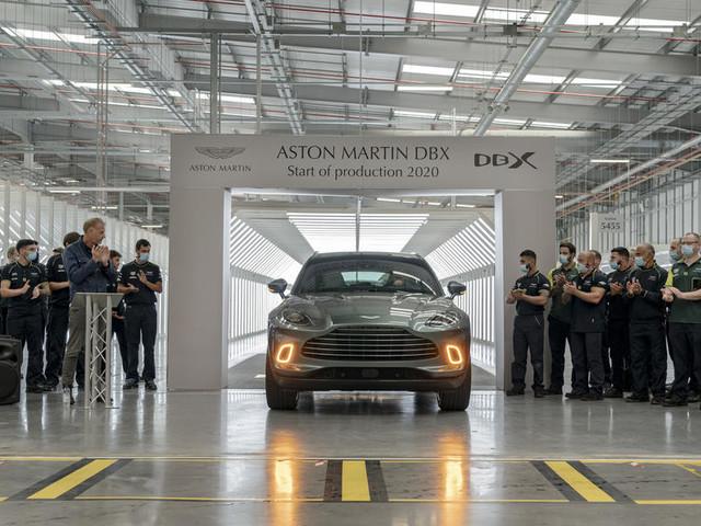 Aston Martin DBX production commences