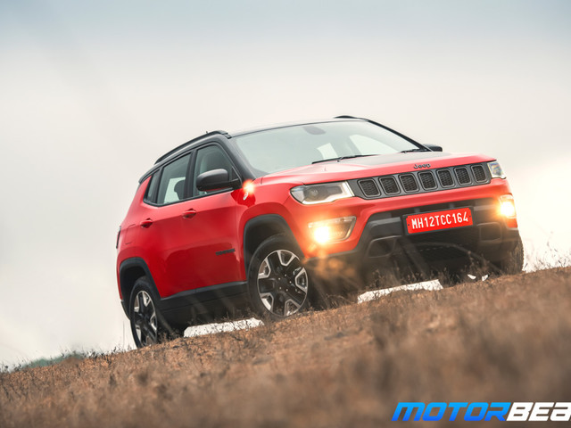 Jeep Compass Trailhawk Launched, Priced At Rs. 26.8 Lakhs