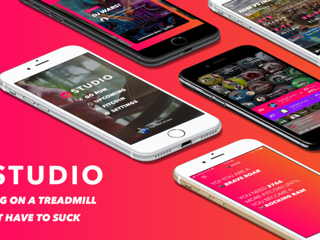Studio makes running more exciting with coaching, music and competition