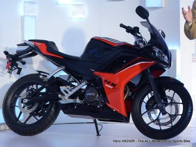 Hero HX250 plan shelved – Focus is now on 300cc and higher