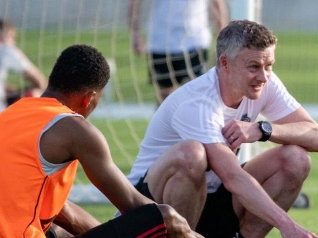 Manchester United coach Solskjaer names two things Marcus Rashford has improved