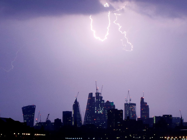 UK Weather Forecast: More Thunderstorms On The Way
