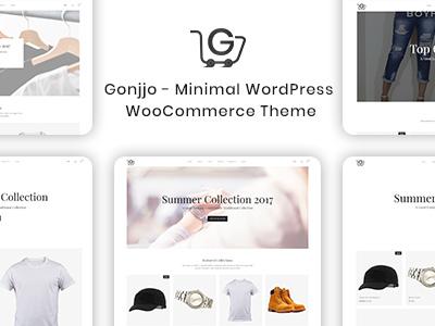Gonjjo - Minimal WooCommerce Theme (WooCommerce)