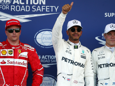 Hamilton leads another Mercedes front-row F1 lockout as Ferrari falters in Azerbaijan qualifying