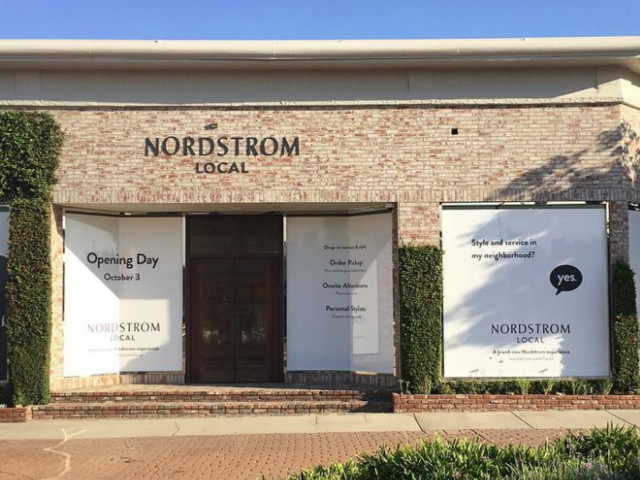 Nordstrom just opened a tiny store that doesn't sell any clothes — here's what it looks like