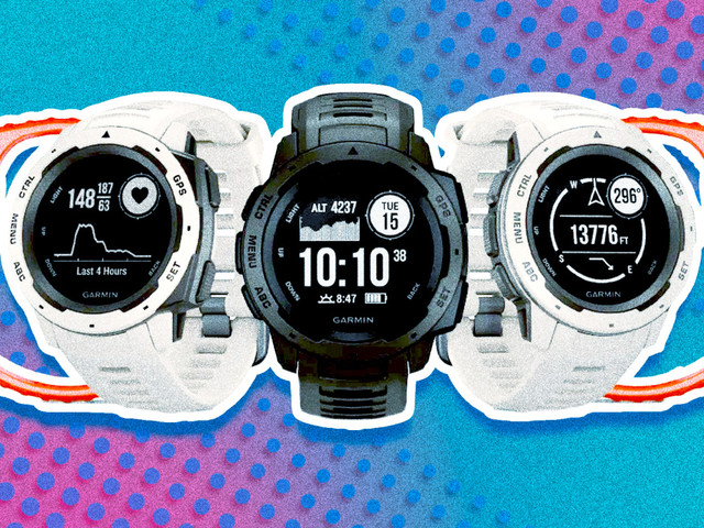 Garmin Instinct: A hefty smartwatch that can handle any adventure
