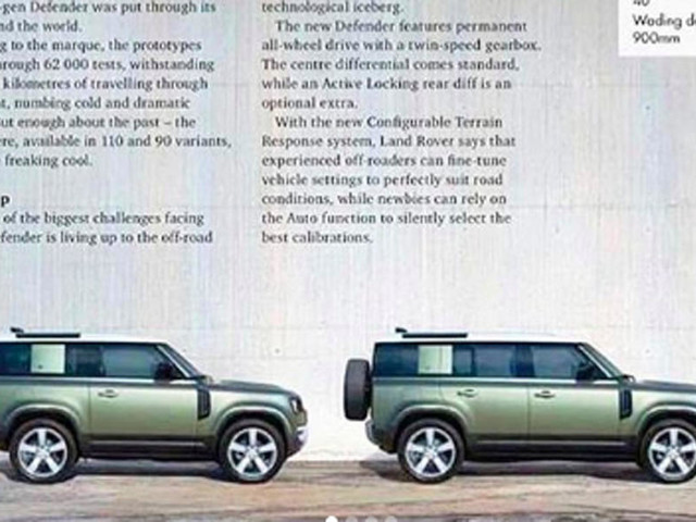 New Land Rover Defender to be revealed today