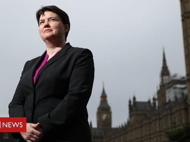 Ruth Davidson hints at future UK Conservative leadership bid
