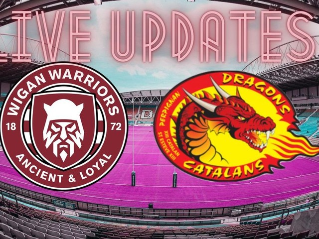 Wigan Warriors v Catalans Dragons live: Team news and build-up