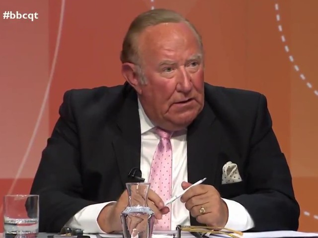 Andrew Neil says he quit GB News because he didn't want to work for 'British Fox'