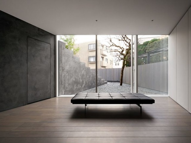 Interceptive Faux Stair Designs - The Stairway House is a Multi-Generational Home Designed by Nendo (TrendHunter.com)