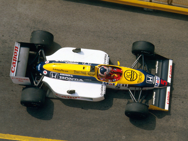 Throwback Thursday: driving the 1987 F1 title-winning Williams FW11B