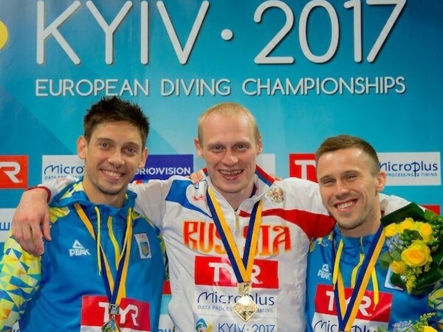 Zakharov holds off home challenge to win at European Diving Championships